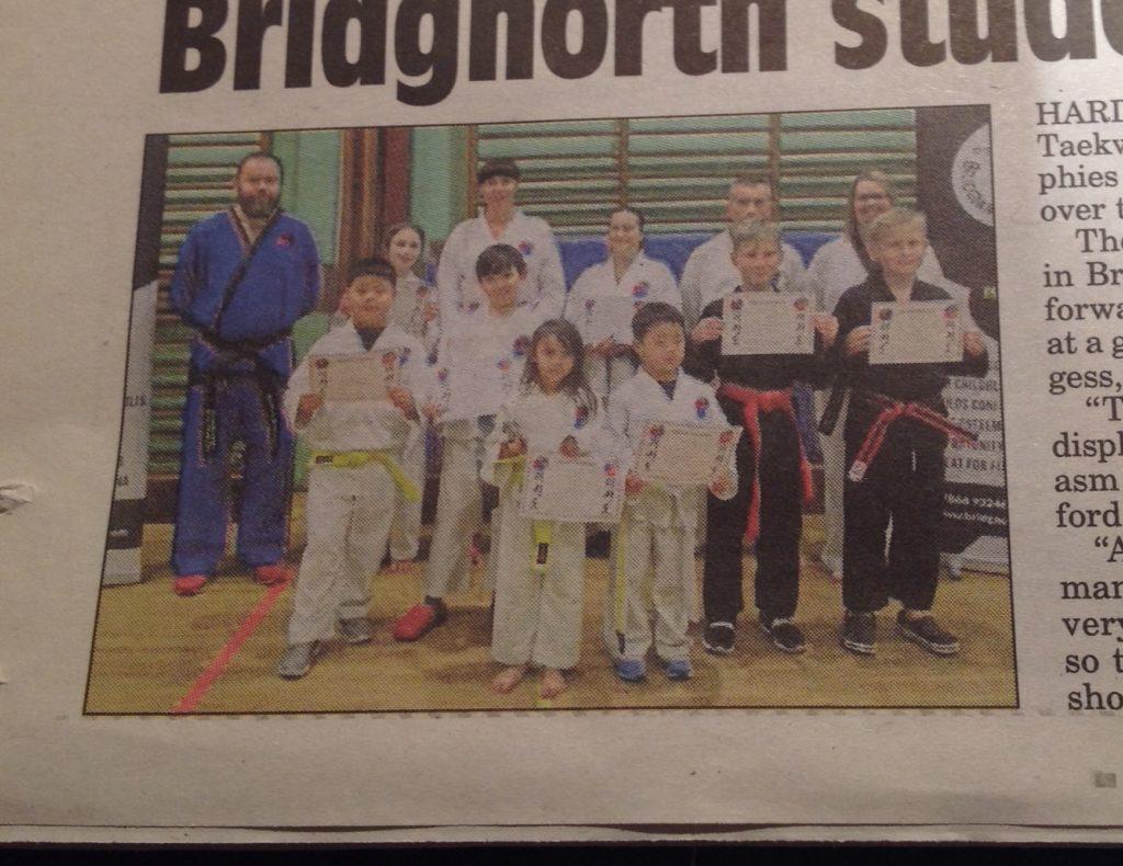 Bridgnorth TKD in Bridgnorth Journal